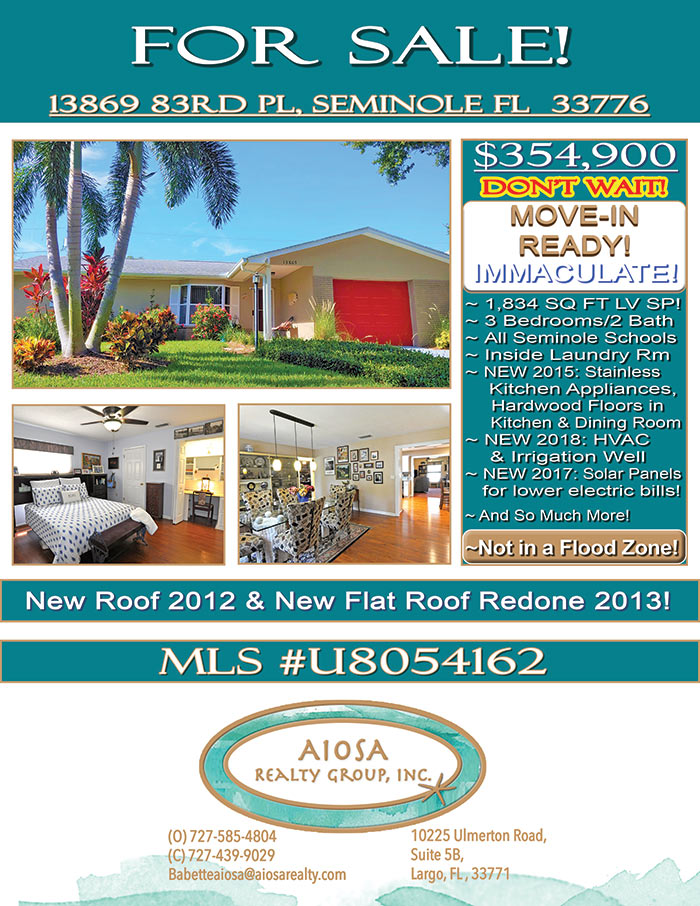 Price Reduction Flyer 83rd PL $354,900