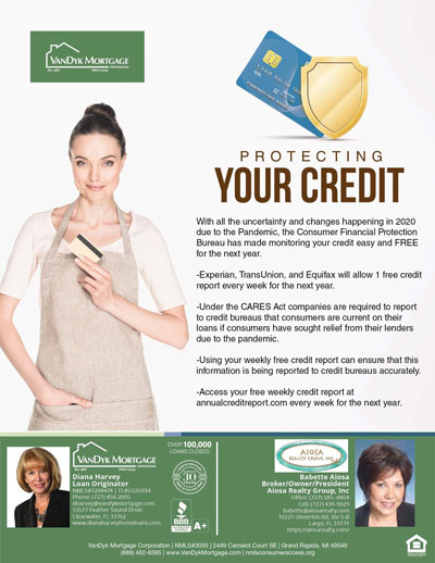 Ways of Protecting Your Credit