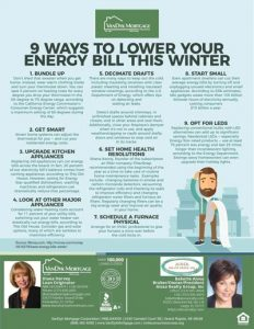 Ways to lower Energy Bills in Winter