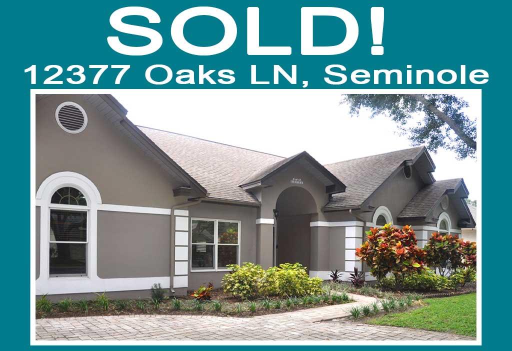 Oaks Ln House Sold