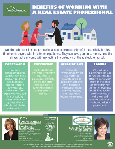 Benefits or working with a real estate professional